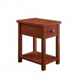 Oxford Square End Table With Drawer