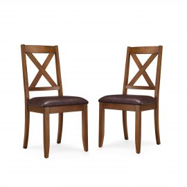 Maddox Crossing Padded Dining Chair, Set of 2