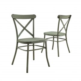 Collin Distressed Dining Chairs, Set of 2