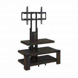 3-Shelf Television Stand with Floater Mount