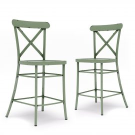 Collin Counter Height Stools, Set of 2