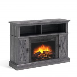 Kellum Media Fireplace Console for 58in TVs